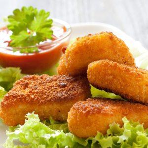 Nuggets de Pollo Orgánico, 10pzas