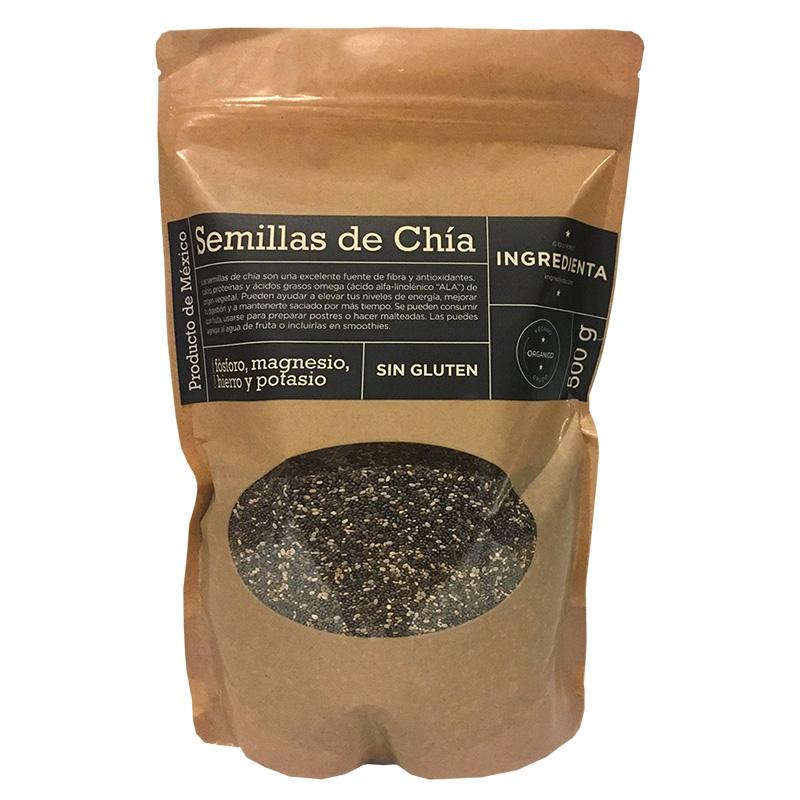 Semillas de Chía, 500g