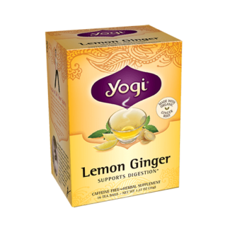 Yogi Lemon Ginger