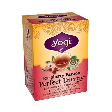 Yogi Tea Energía Perfecta Frambuesa Pasión, 32g