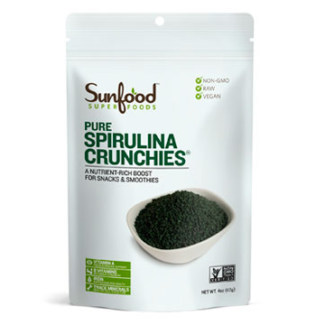 Spirulina Crunchies (sunfood)