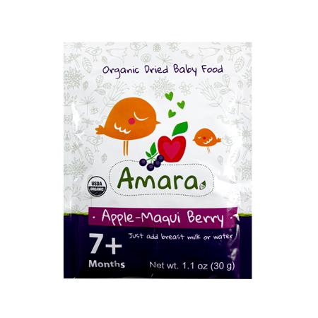 Alimento para bebé: Manzana y Maqui Berry