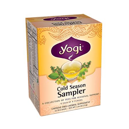 Yogi Tea, Té para la Época de Frío Salud Respiratoria, 31g