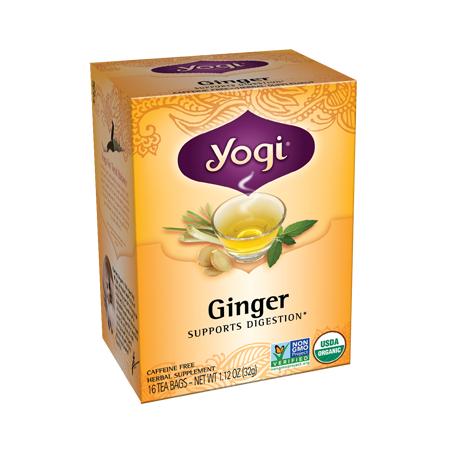 Yogi Tea, Té de Jengibre Orgánico sin cafeina, 32g