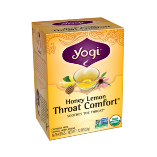 Yogi Honey Lemon Throat Comfort