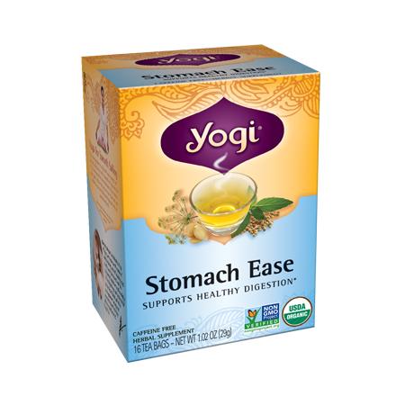 Yogi Tea, Té para el alivio estomacal, 29g