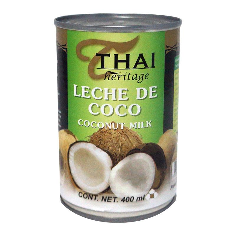 Leche de coco Thai, 400ml
