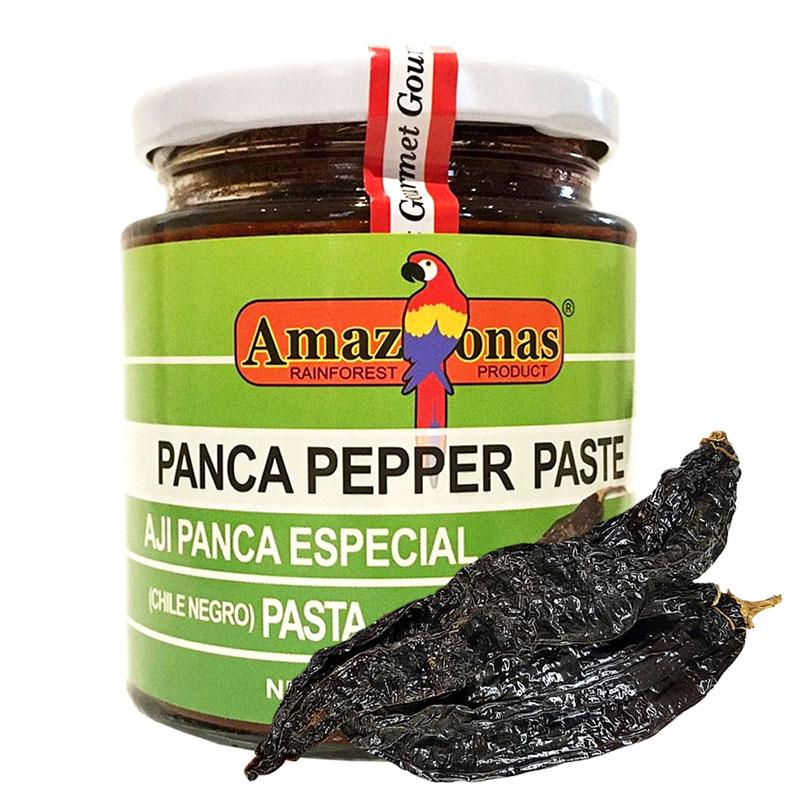 Ají Panca Amazonas con Chile Negro, 227g
