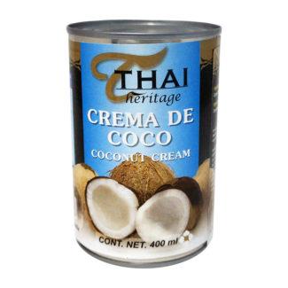 Crema de coco Thai