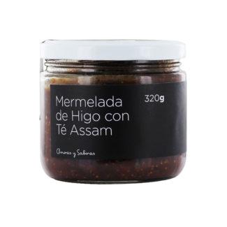 Mermelada de higo con Té Assam