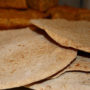 tortillas, with, cornbread, background