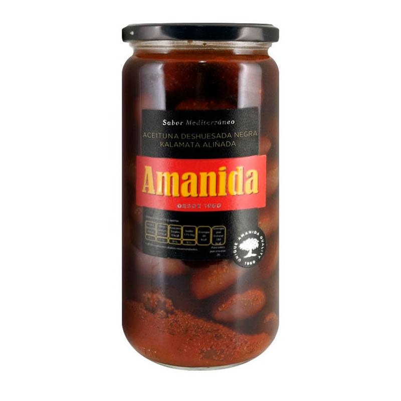Aceitunas Negras Kalamata Amanida, 660g