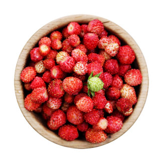 Fresas del bosque congeladas