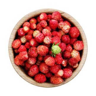Fresas del bosque frescas