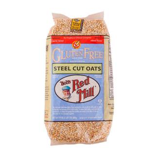 Bob´s Red Mill, Avena Corte Acero sin Gluten