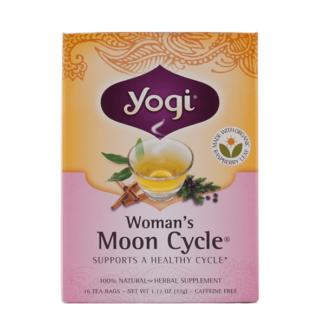 Yogi Tea, Té Ciclo Lunar, Sin Cafeína