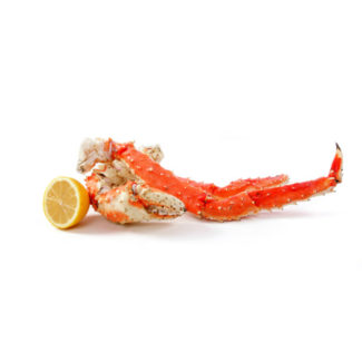 Recortes de pata de King crab