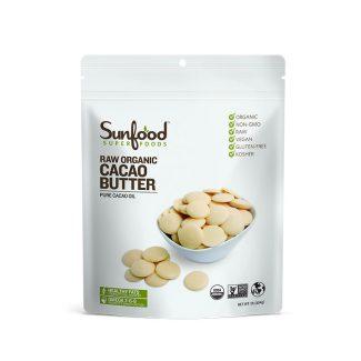 Mantequilla de Cacao Sun Food de 1 lb