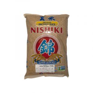Arroz Integral Nishiki, 1kg
