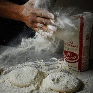 Harina para pizza napolitana de grano entero, 1kg