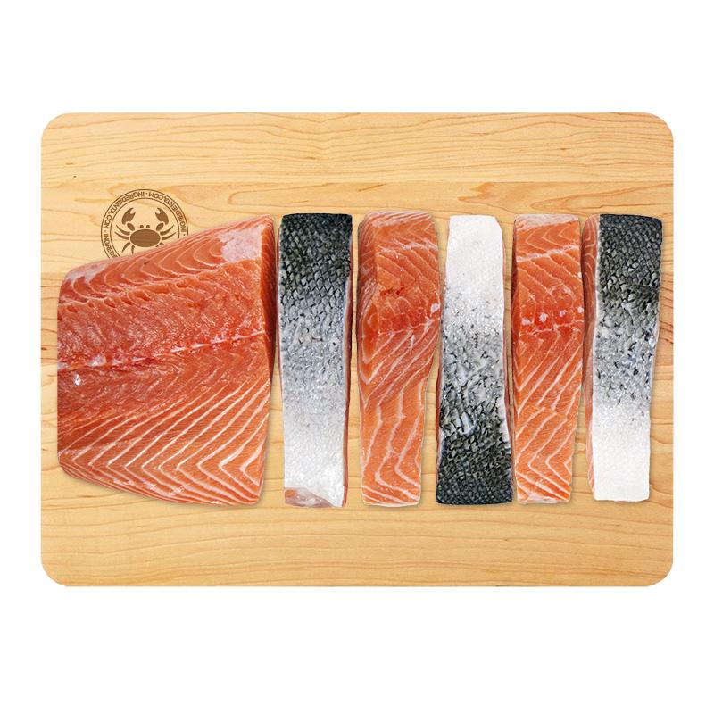 Salmón Fresco de Canadá en Steaks, 160g