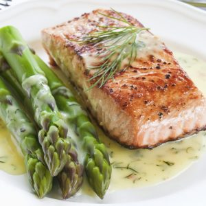 Salmón del Atlántico Fresco en Steaks