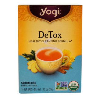 Yogi Tea, Té DeTox, sin cafeína, 29g