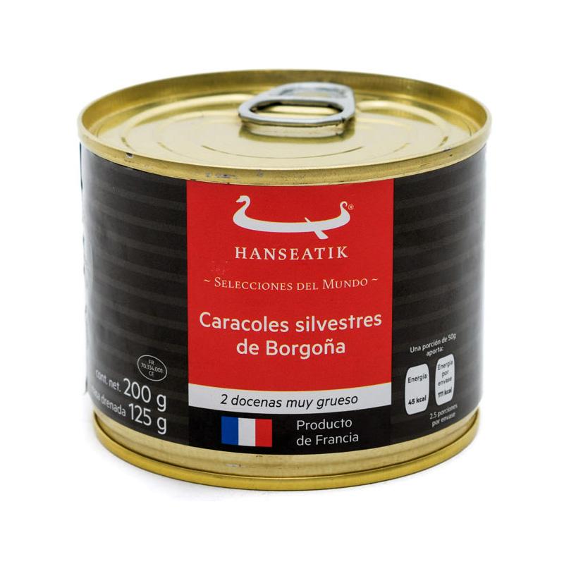 Caracoles Silvestres de Borgoña, 2 docenas, 200g