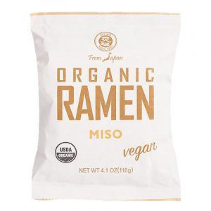 Ramen Instantáneo Orgánico Sabor Miso, 116g