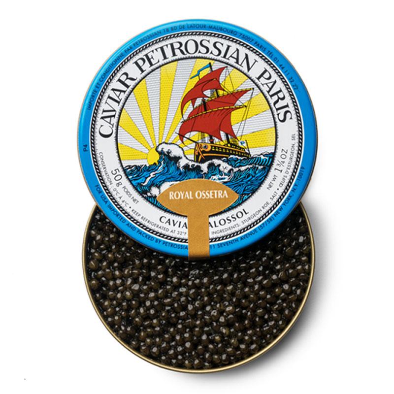 Caviar Royal Ossetra, 50g