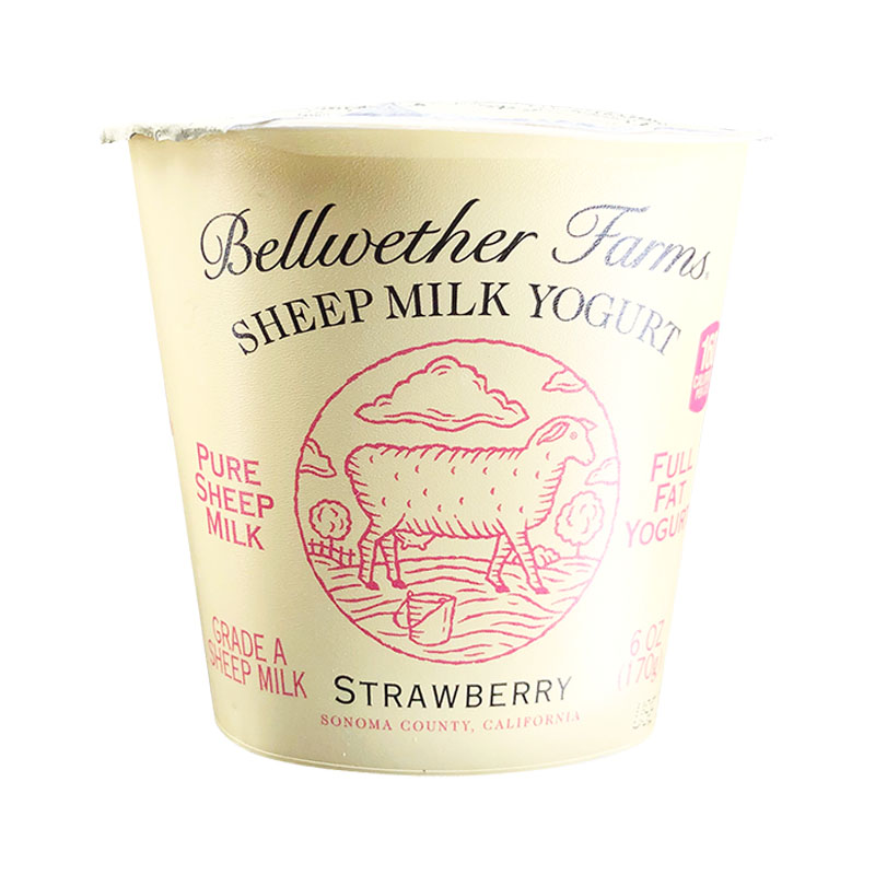 Yogurt de Oveja Sabor Fresa, 170g