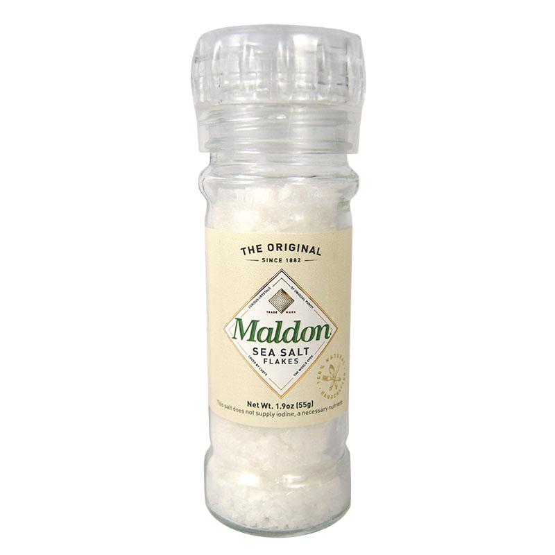 Sal Maldon Natural con Molino, 55g