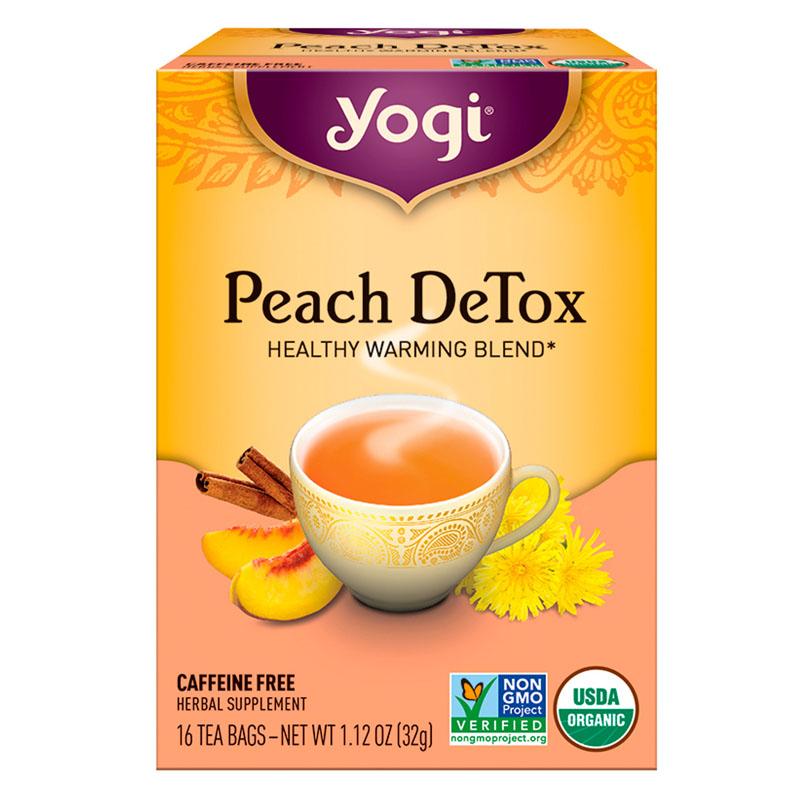Yogi Tea, Durazno Detox, 32g