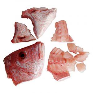 Kit para caldo de pescado, 1kg