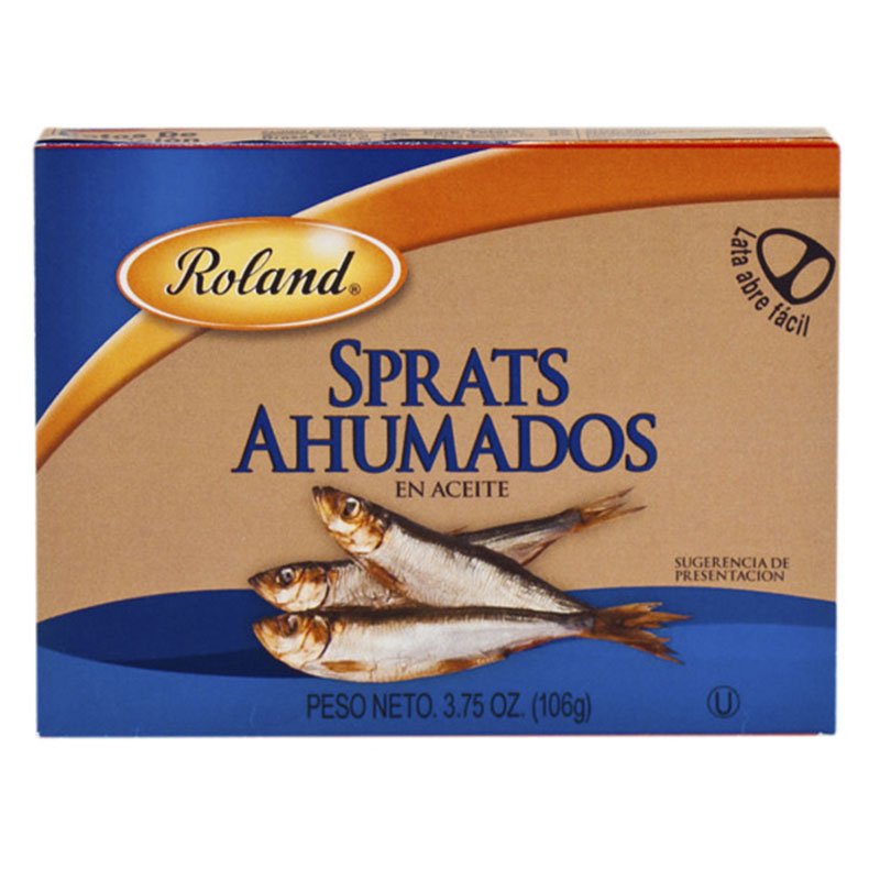 Sprats Ahumados, 106g