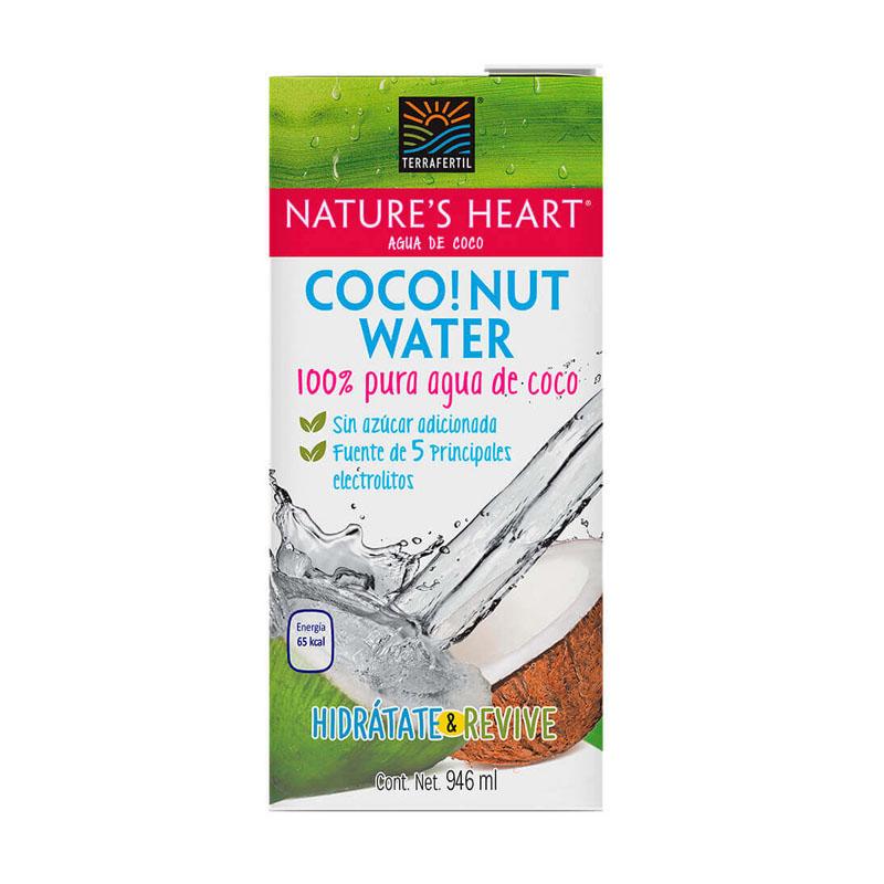 Agua de Coco Nature's Heart, 946ml