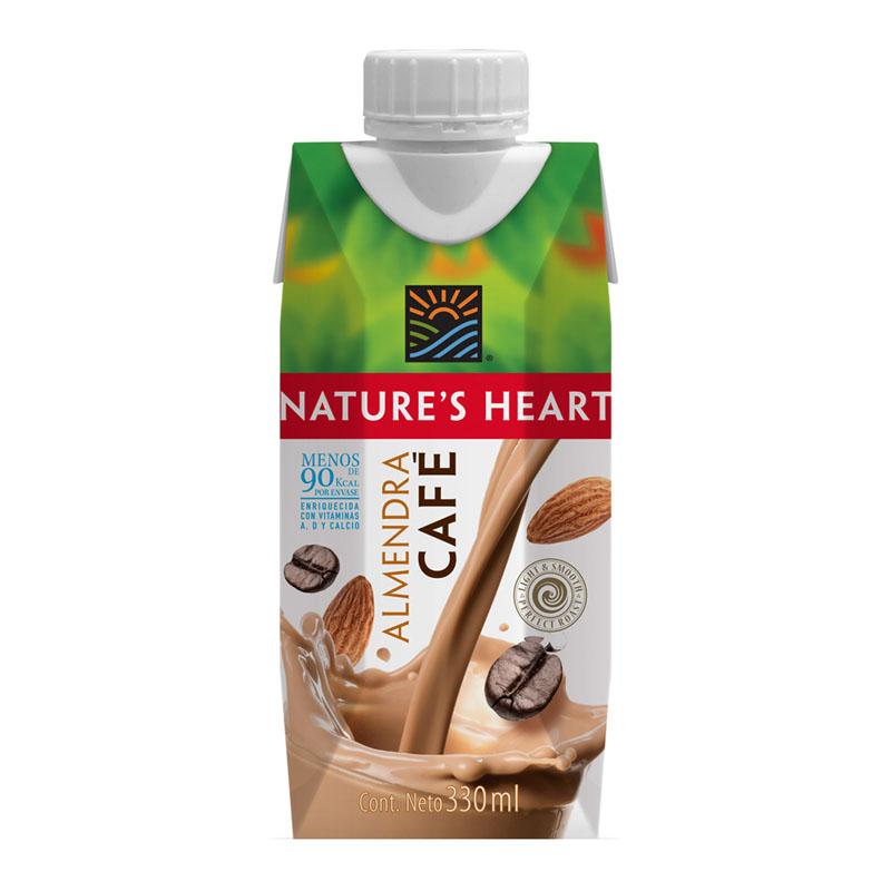 Bebida Almendra y Café Nature's Heart, 330ml