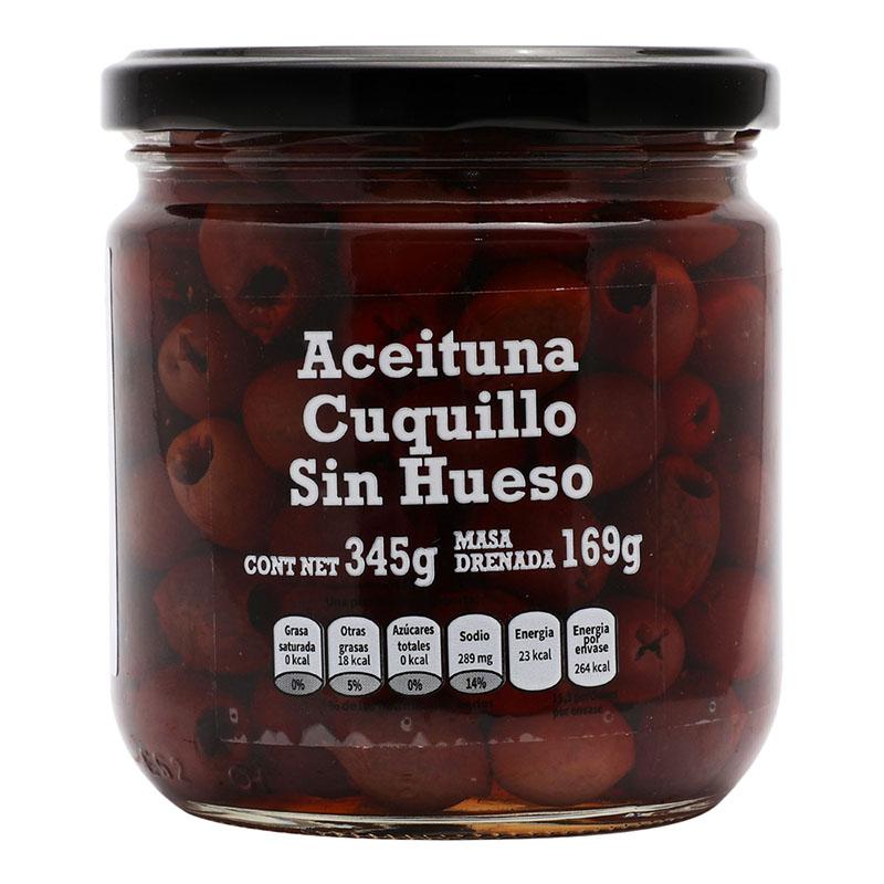 Aceituna Cuquillo sin Hueso, 345g