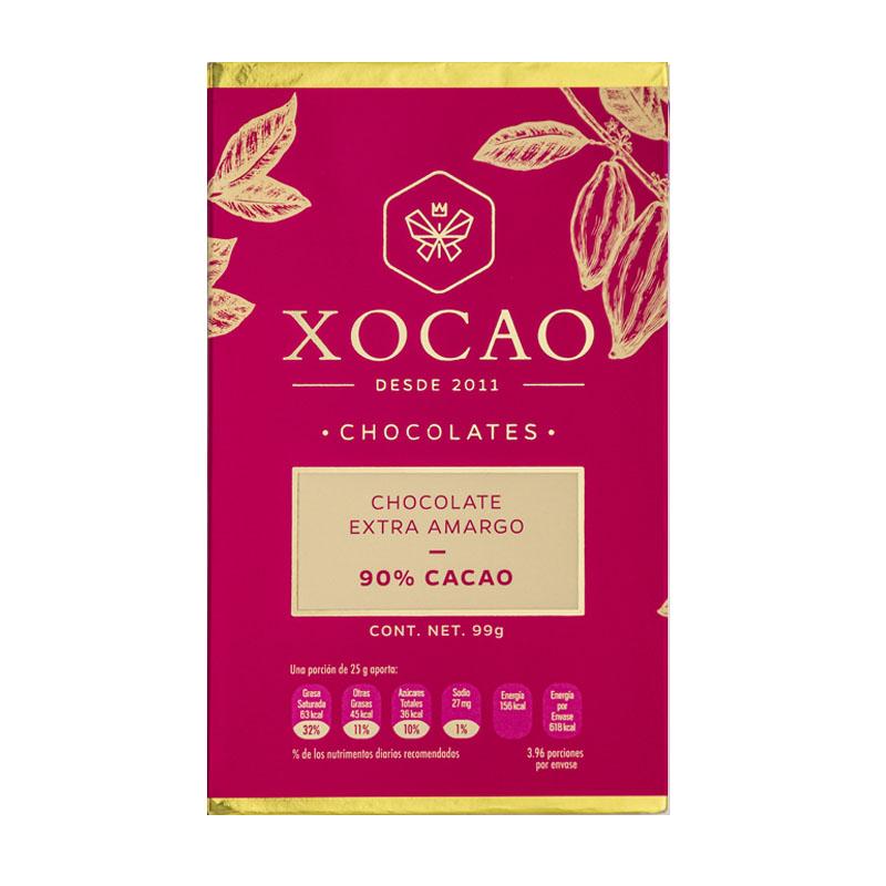 Barra de Chocolate Extra Amargo, 99g