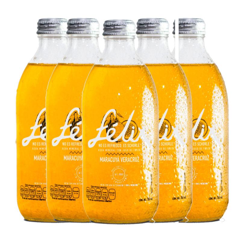 Bebida Felix Maracuya, 6pz