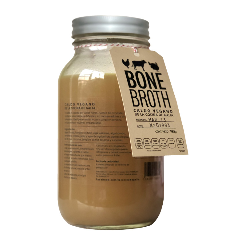 Bone Broth Vegano, 790ml