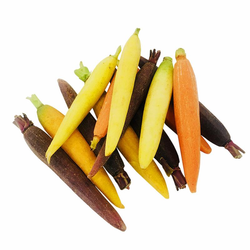 Zanahoria Baby de Colores Pelada a Mano, 250g