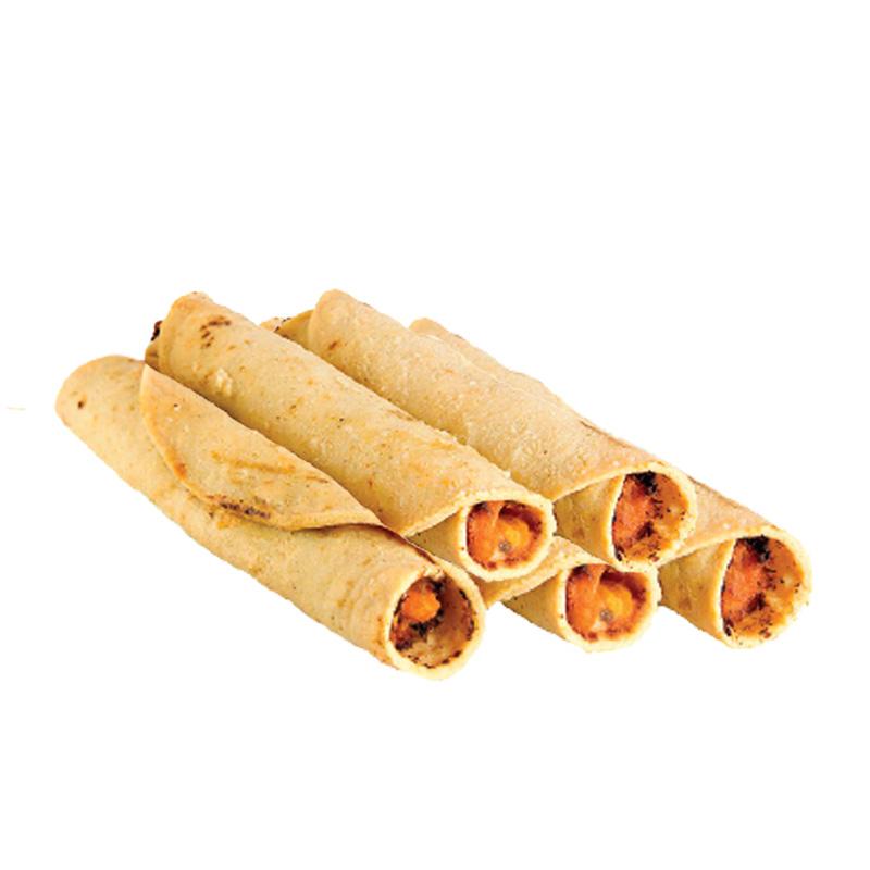 Flautas de Pollo Orgánico, 6pz
