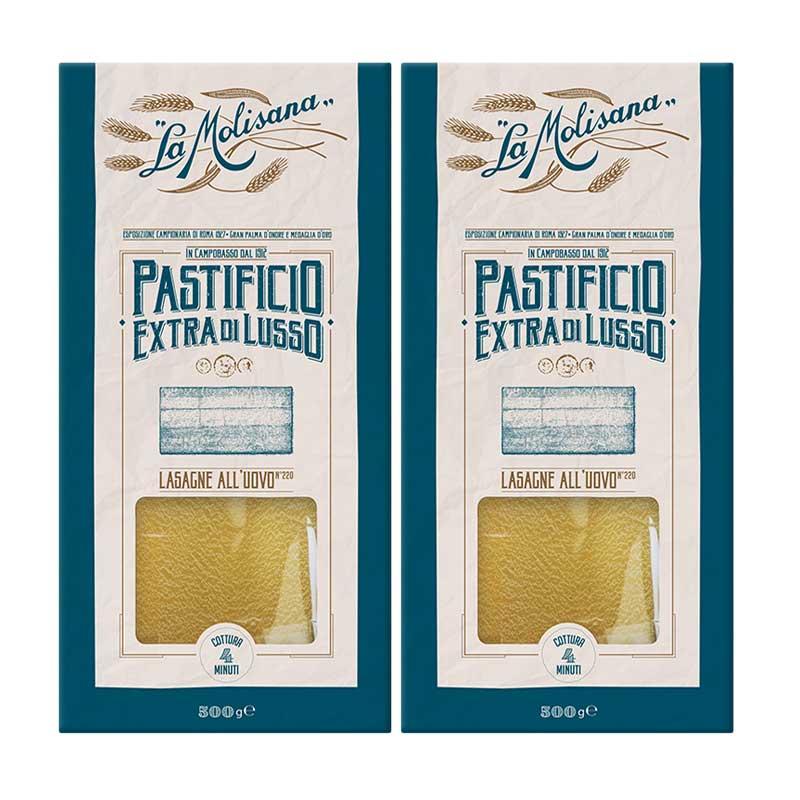 Pack Pasta Lasaña, 2pz