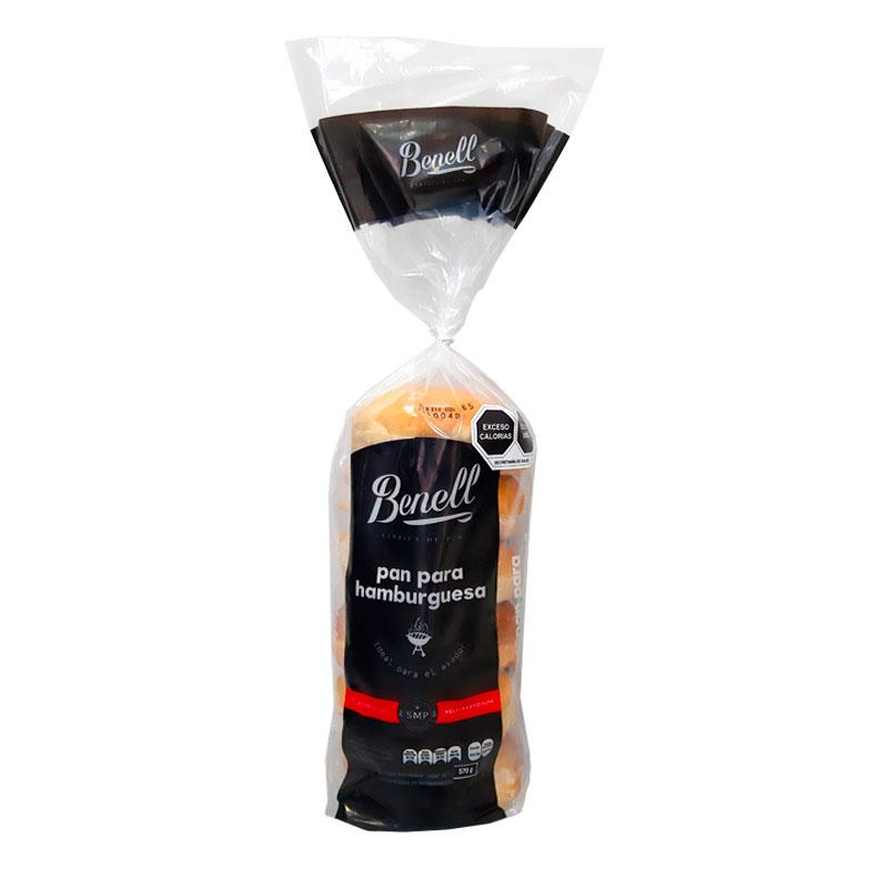 Pan para Hamburguesas Benell, 6 piezas