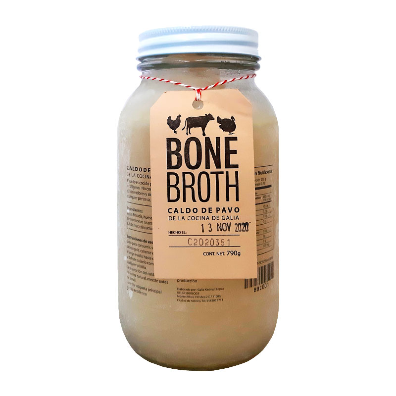Bone Broth de Pavo, 790ml