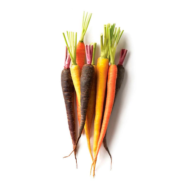Zanahorias de Colores sin Hojas, 300g