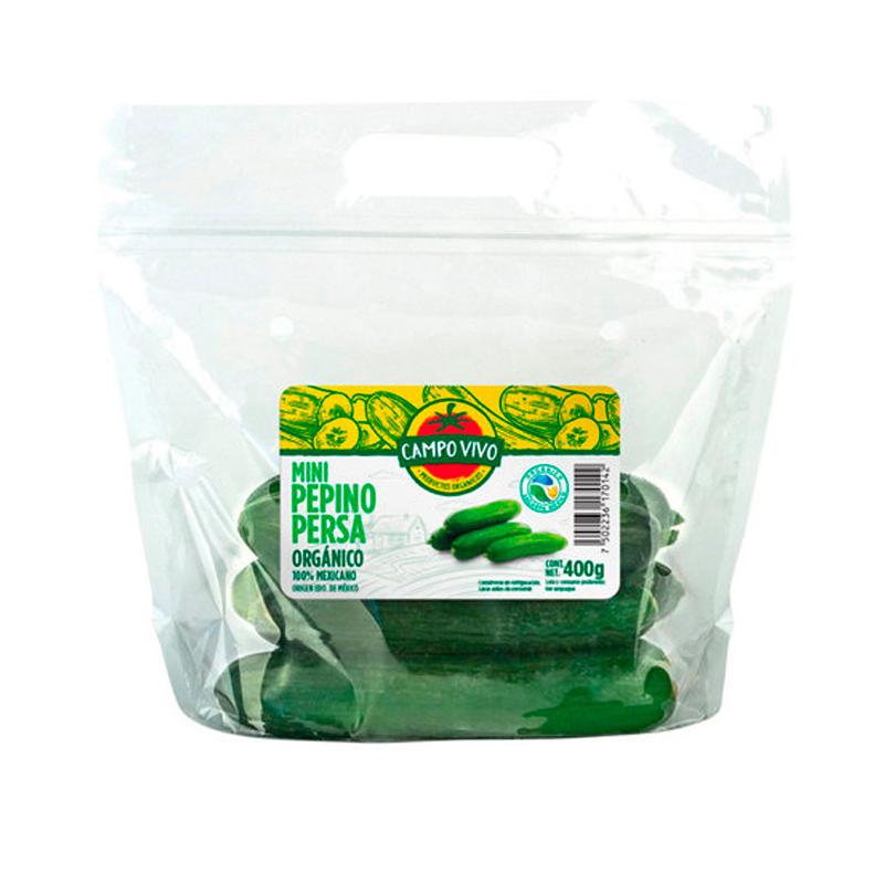 Pepino Persa Orgánico Mini, 400g